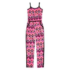 Total Girl® Sleeveless Colorblock Jumpsuit – Girls 7-16  found at @JCPenney