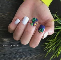 Trendy And Catchy Summer Nail Designs You Need To Try This Summer Summer Nails Summer Nail Designs Trendy Summer Nails Catchy Nail Art Summer Bright Color Nails Cute Summ. Nail Art Designs, Nail Designs Spring, Tropical Nail Designs, Diy Nails, Cute Nails, Pretty Nails, Spring Nails, Summer Nails, American Nails
