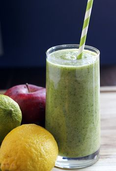 green energy detox cleanse drink recipe #HealthyBeverages #CleanEating #ShermanFinancialGroup
