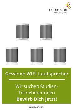 """SONOS WIFI Lautsprecher zu gewinnen. Mach mit bei unsere Studie """"Audionutzung der Zukunft"""" Audio, Sonos, Future"""