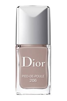 vernis gel shine & long wear nail lacquer by Dior. Dior Vernis Gel Shine and Long Wear Nail Lacquer is the first couture gel-effect nail polish, fea. Dior Nail Polish, Fall Nail Polish, Black Nail Polish, New Nail Colors, Nail Polish Colors, Sephora, Dior Shop, Dior Fragrance, Transparent Nails