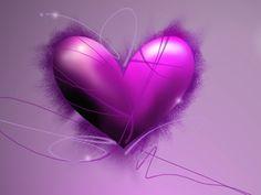 Purple Heart by insaine on DeviantArt Purple Hearts, Purple Wallpaper, Love Heart, Organizing, Happy Birthday, Deviantart, Abstract, Happy Brithday, Summary