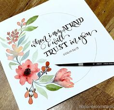 SkyMesh Webmail :: 18 Calligraphy art Pins you might like Wreath Watercolor, Watercolor Cards, Watercolor Flowers, Watercolor Paintings, Watercolours, Bible Verse Painting, Scripture Art, Bible Art, Canvas Painting Quotes
