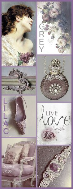 '' Grey & Lilac '' by Reyhan S.D.
