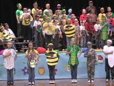 Ponca City Union Elementary 2nd & 3rd Grade Spring Musical 2012 - YouTube