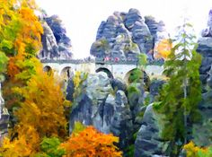I uploaded new artwork to fineartamerica.com! - 'Bridge Named Bastei In Saxon Switzerland Germany' - http://fineartamerica.com/featured/bridge-named-bastei-in-saxon-switzerland-germany-lanjee-chee.html via @fineartamerica