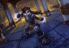 Characters of Wow / Warcraft - Aysa Cloudsinger