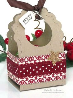 michelles card classes: Tags and gift box class
