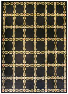 A Portuguese Needlework Rug BB3991   By Doris Leslie Blau. A Modern Mid  20th Century