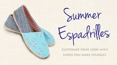 Espadrilles DIY: Make These From Scratch!