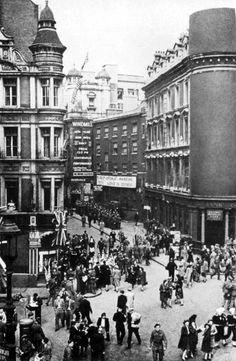 The Windmill Theatre on the corner of Great Windmill street and Archer Street, just off Shaftesbury Avenue, was a magnet to many of the new wave ex-servicemen comedians, of which there were many. The theatre was infamous for its risque dancing girls and nude tableaux but it was a tough crowd for comedians who would make up part of the show. Not too many patrons were there for the jokes.