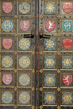 Basilica Doors in Vysehrad