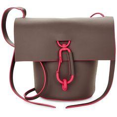 ZAC Zac Posen Belay Crossbody Bag ($150) ❤ liked on Polyvore featuring bags, handbags, shoulder bags, handbags crossbody, crossbody handbag, shoulder strap handbags, shoulder handbags and leather crossbody purse