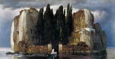 Arnold Böcklin, L'ile aux mort
