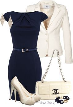 The dress is classic and I love those silk heels. Perfect look to go from work to date night.