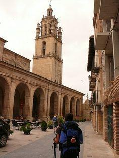 Los Arcos   Camino de Santiago.