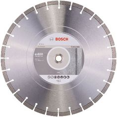 #Bosch Professional Bosch Diamond Cutting Disc Best For Concrete 400mm #Diamond cutting discs for joint cutters. Optimised for concrete.Features and Benefitsandbull; Ideal for all types of hardened concrete and reinforced concrete andbull; Up to 15 mm segment height for a long lifetime, even in demand... (Barcode EAN=3165140581653)