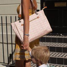 Bramley Tote Nappy Bag #pinklining