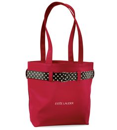 tote bag with polka dot belt #promotionalproducts