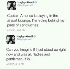 More reasons to love Hayley Atwell, not that you really need them