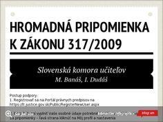 Hromadná pripomienka k zákonu by sopkomir - Infogram Education, Onderwijs, Learning