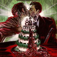 Zombie wedding, sigh,,, so romatic