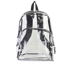 International Eastsport Clear Backpack ($13) ❤ liked on Polyvore featuring bags, backpacks, clear, sports backpack, laptop backpacks, lightweight laptop backpack, laptop bag and light weight backpack