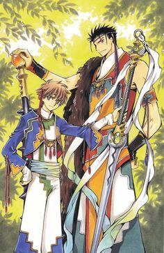 Syaoran x Kurogane Cardcaptor Sakura, Syaoran, Tokyo Babylon, Manga Anime, Anime Art, Xxxholic, Card Captor, Manga Artist, Reproduction