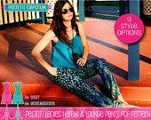 Ladies Harem Pants & Lounge Pants PDF Pattern