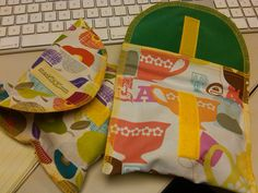 serged snack bags