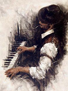 la musique fut.....