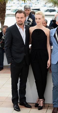 Carey Mulligan in Balenciaga at the Great Gatsby photocall at the Cannes Film Festival - 15 May 2013