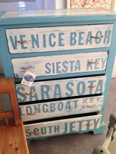 LOVE THIS! Saw this at Forget Me Not Furnishings in Venice, FL.