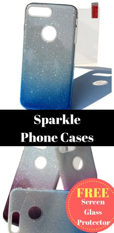 Sparkle phone cases + Free Glass Screen Protector, sparkle phone cases, sparkle iphone case 6 & Sparkly Phone Cases #sparklephonecase #spakleiphoncase #sparklyphonecase Sparkly Phone Cases, Glass Screen Protector, Iphone Cases, Sparkle, Free, Glow, I Phone Cases