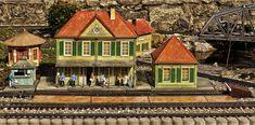 Garden, Railway Station, Model Railway, Platform #garden, #railwaystation, #modelrailway, #platform