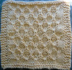 honeycomb dishcloth