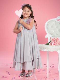 932f3e6791a Alfred Angelo Flower girls 6695 Angelo s Angels Flower girls Bedazzled  Bridal and Formal