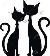 Resultado de imagen para gato silueta