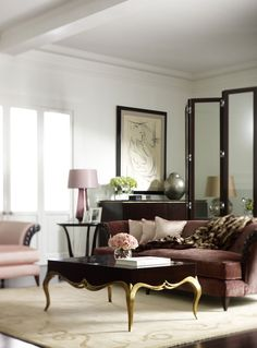Christopher Guy  Table Living Room handcrafted furniture, top interior designers,