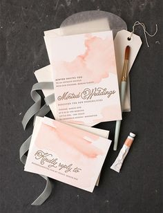These invitations are so beautiful.