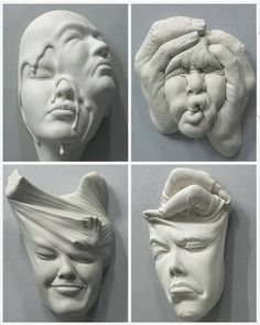 sculptures by Johnson Tsang