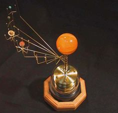 The original Wanderers orrery.