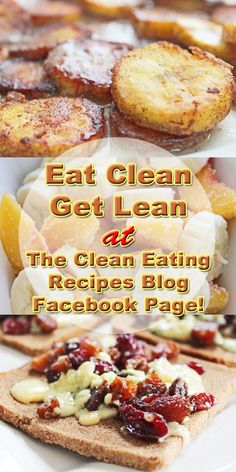 Click pin for the clean eating recipes blog Facebook page!