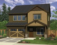 Craftsman House Plan with 2033 Square Feet and 3 Bedrooms from Dream Home Source | House Plan Code DHSW69148