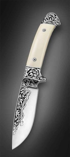 Edmund Davidson- I have one of his knives but it doesn't look like this! Great knife maker who is very down to earth.