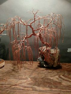 "Acquire excellent suggestions on ""metal tree art decor"". They are on call for you on our web site. Metal Tree Wall Art, Metal Art, Bijoux Wire Wrap, Copper Wire Art, Bonsai Wire, Tree Wall Decor, Art Decor, Wire Tree Sculpture, Wire Trees"