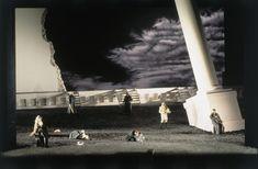 "OPERA: ""Tannhauser"" / Wagner 1994  Tannhauser / Wagner 1994  Bayerische Staatsoper , Munchen , Germany Conductor : Zubin Mehta  Director : David Alden Costumes : Buki Shiff Lighting : Pat Cllins Photo : Wilfried Hosl Set Design Theatre, Stage Design, Scenography Theatre, Opus, Stage Set, Scenic Design, Lighting Design, Scenery, Explore"