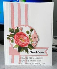 89 best cards with patterned papers images on pinterest in 2018 fussy cut flowers from designer paper used as the focal point m4hsunfo