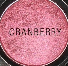 Mac eyeshadow: cranberry