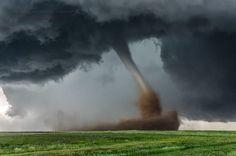 "Top 10 Weather Photographs: 6/26/2015 ""Dusty Colorado Tornado Roams the Prairie"" – Tornado, Simla, Colorado. June 4th 2015."